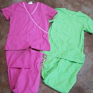 Set of 2 Scrubs Used